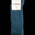 """Chaussettes roulottées en bouclettes de coton biologique """"Canard"""""""