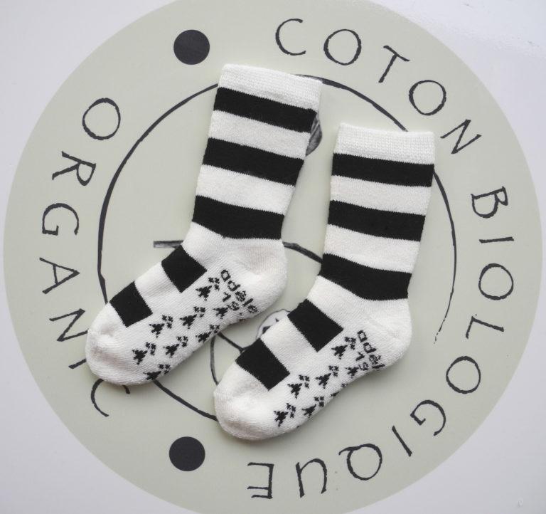Chaussette bébé coton bio