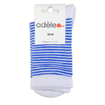 Perle & Bleu Roy socquettes  en coton bio