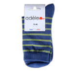 "Socquettes en coton bio ""Océan & Prairie"""